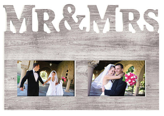 Mr and Mrs Custom Picture Frame