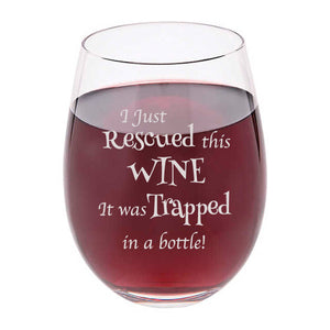 Funny Customizable Wine Glass - The Personalize Shop