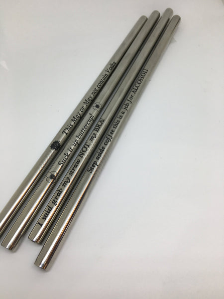 Personalized Stainless Steel Straw - The Personalize Shop