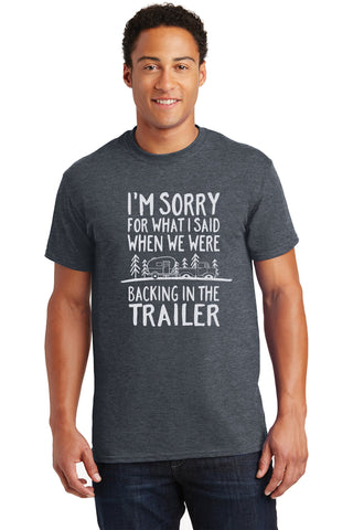 Funny Sorry T-shirt - I am Sorry Shirt - Funny Camping Tee - The Personalize Shop