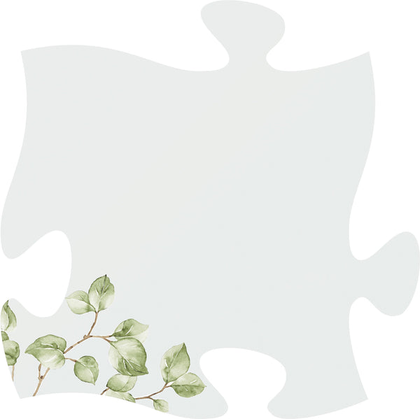 Painted Personalized Puzzle Piece - The Personalize Shop