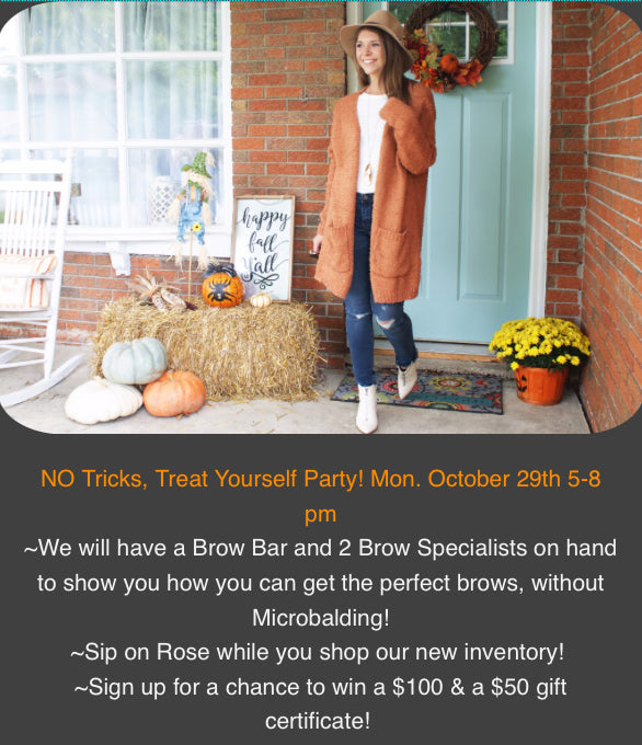 No Tricks, Treat Yo'self Party!