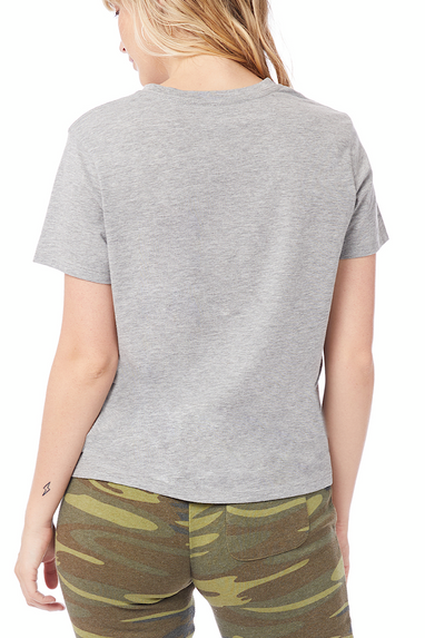 Her Go-To T-Shirt in Heather Grey