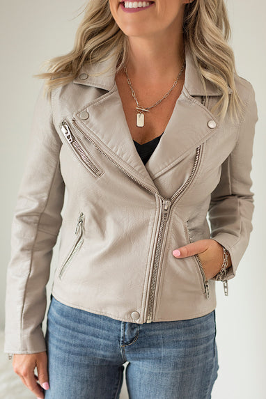 Blank NYC On The Rocks Moto Jacket