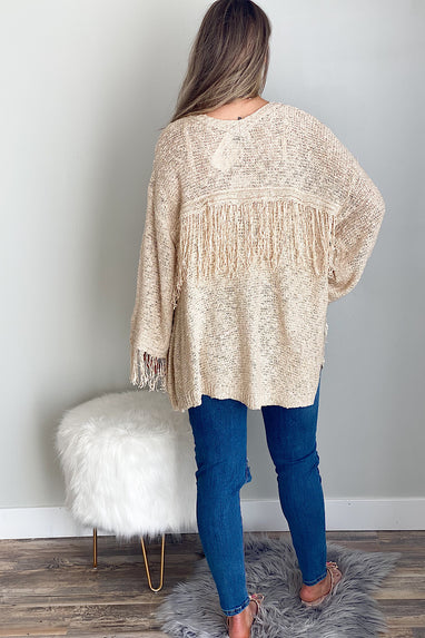 Fringe Zone Lightweight Cardigan