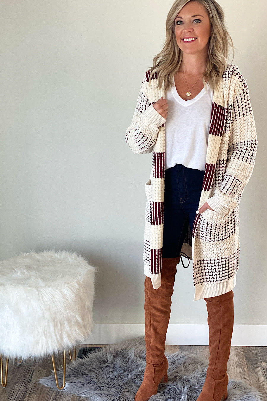 Influential Hooded Cardigan