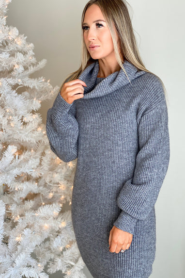 Where You Belong Sweater Dress