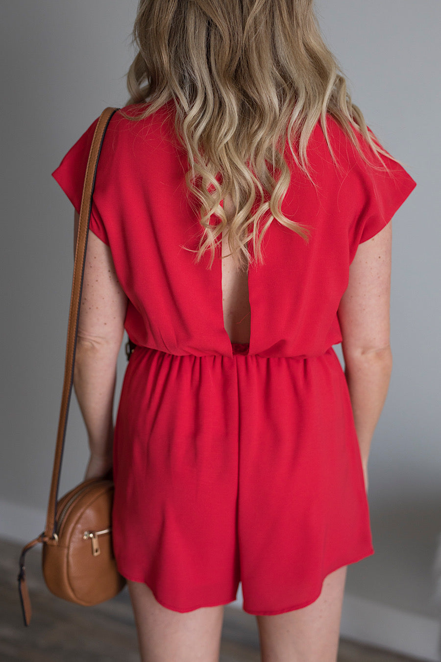 Royalty Romper in Red