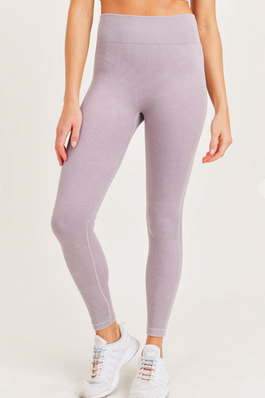 Nirvana Ribbed High Waist Leggings