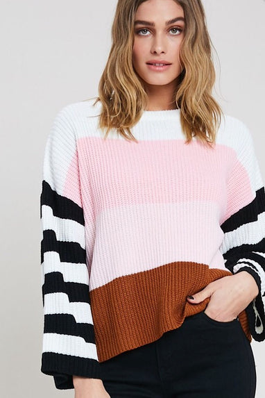 Colorblock Luna Sweater