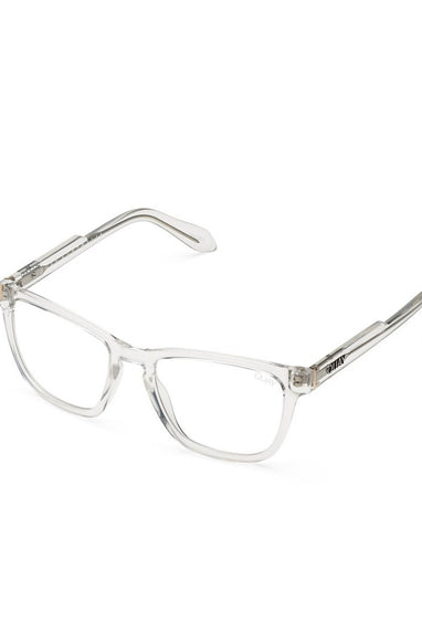 Quay Hardwire Bluelight Clear Glasses