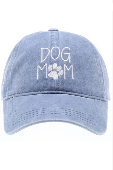 Dog Mom Cap in Blue