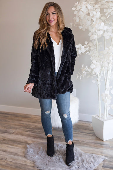 Mariah Faux Fur Jacket