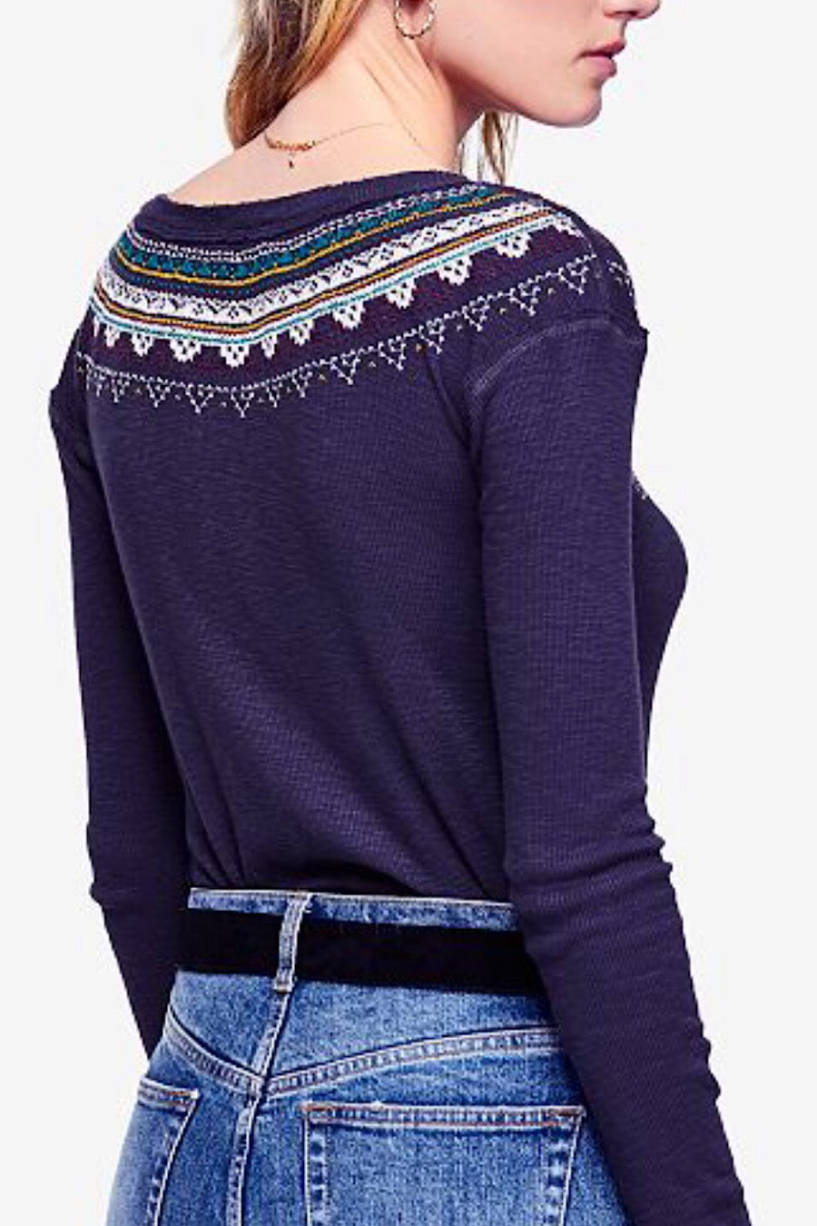 Boho Fairisle Thermal