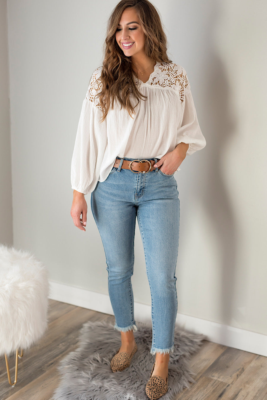 Coachella Crochet Blouse