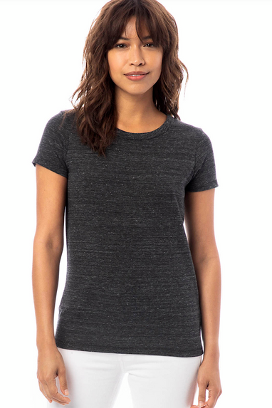Ideal Eco-Jersey T-Shirt in Heather Black