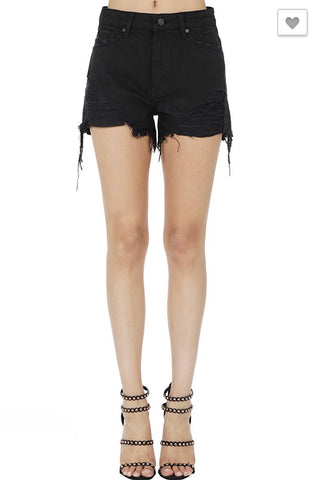 Black Cutoff Shorts PRESALE
