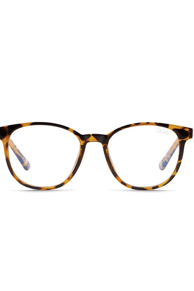 Quay Blueprint Bluelight Glasses in Tort