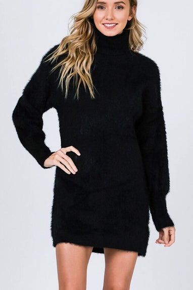 Mohair Sweater Dress