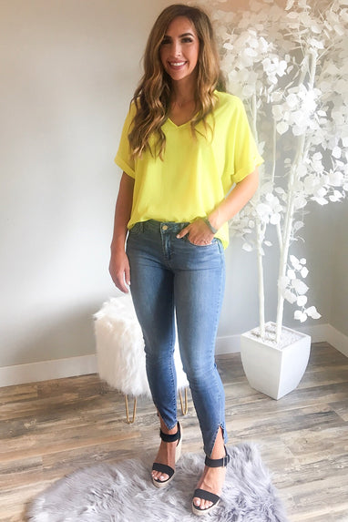 Neon Lights Top
