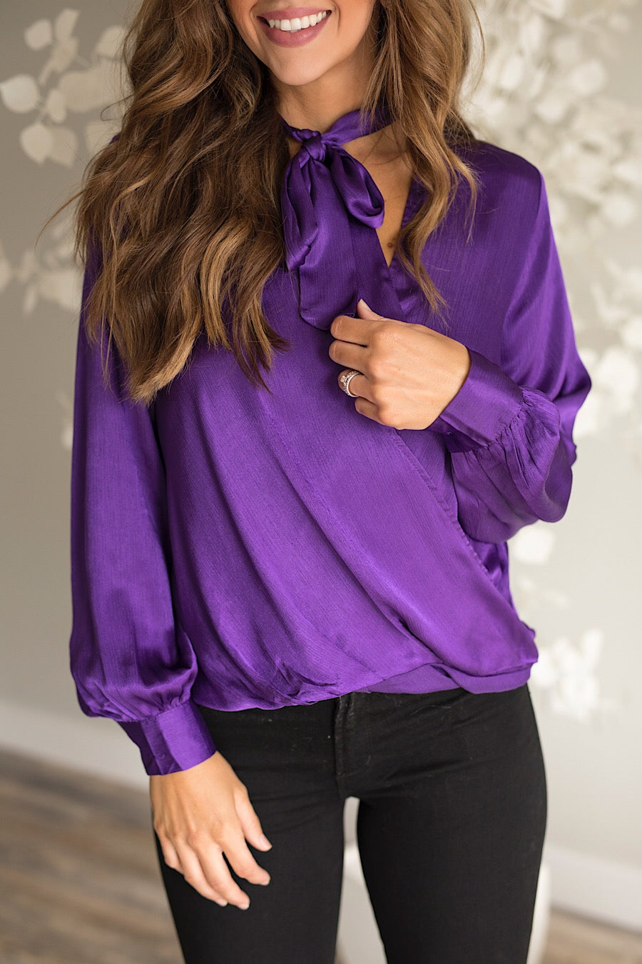 Jagger Satin Blouse