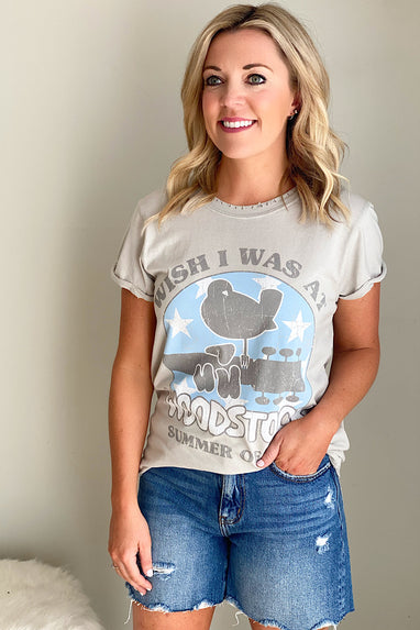 Wish I Were at Woodstock T-Shirt