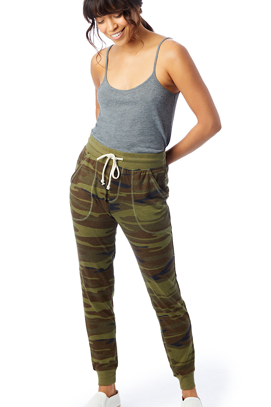 Eco-Jersey Jogger Pant in Camo