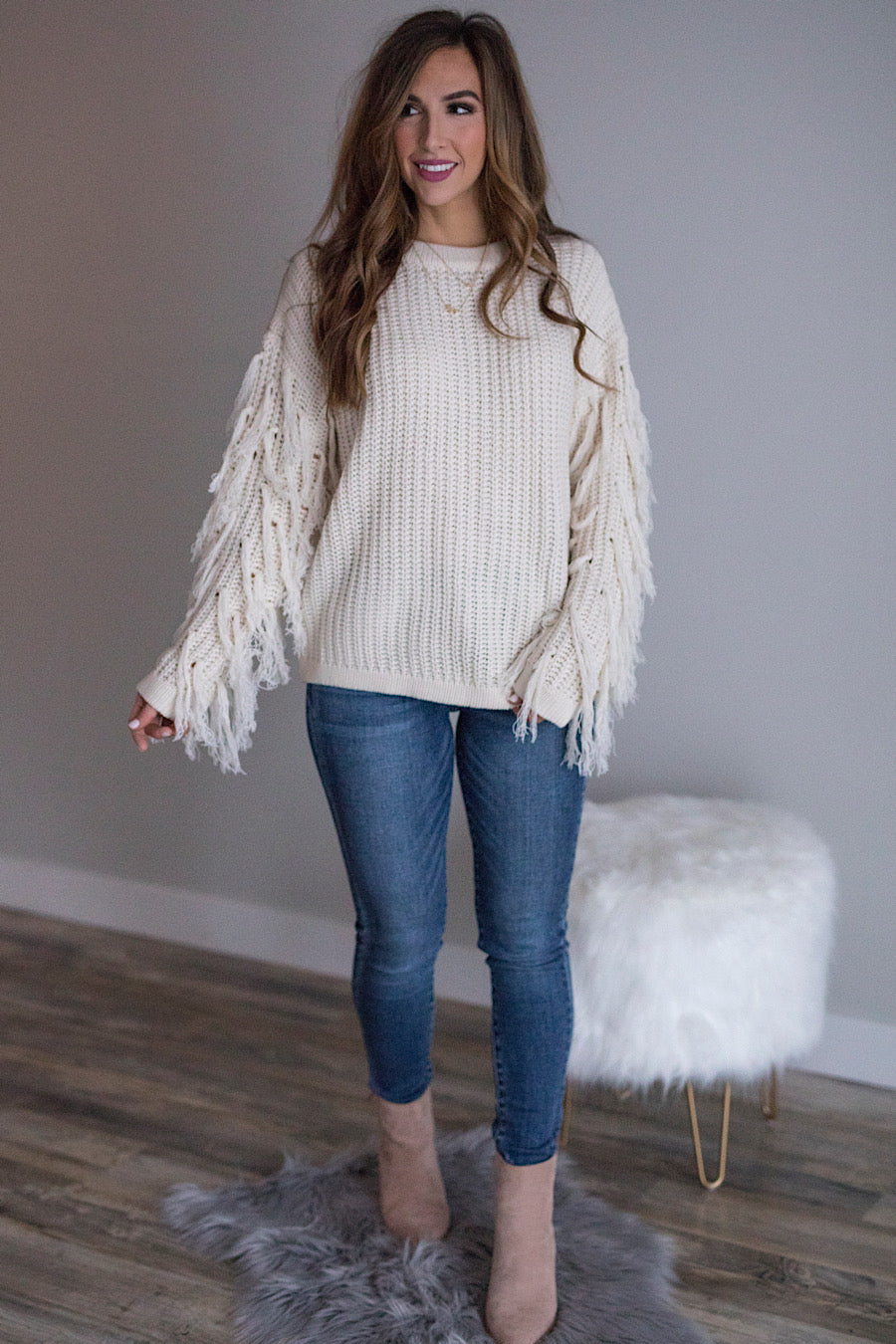 Fringe Forever Sweater