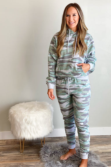 Get Lost Camo Relaxed Joggers