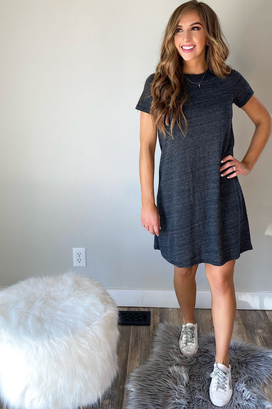 Eco-Jersey T-Shirt Dress