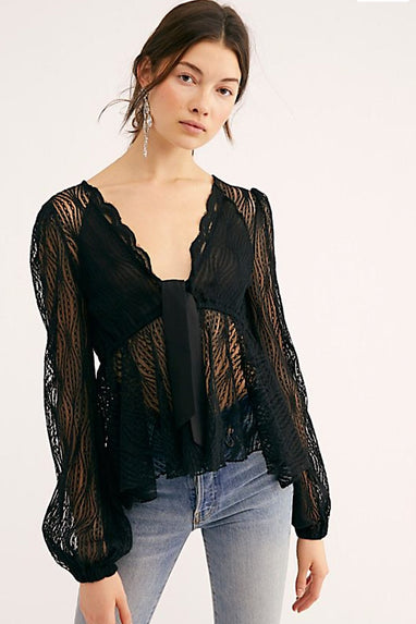 Luisa Lace Top
