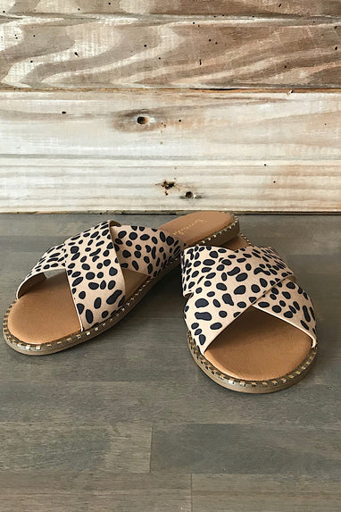 Micah Cheetah Sandals
