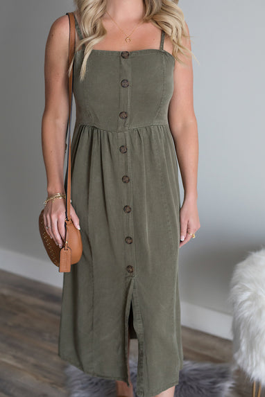 Hampton Tencel Midi Dress