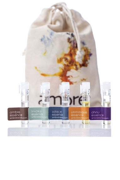 Ambre Blends Pure Essence Oil Sample Pack