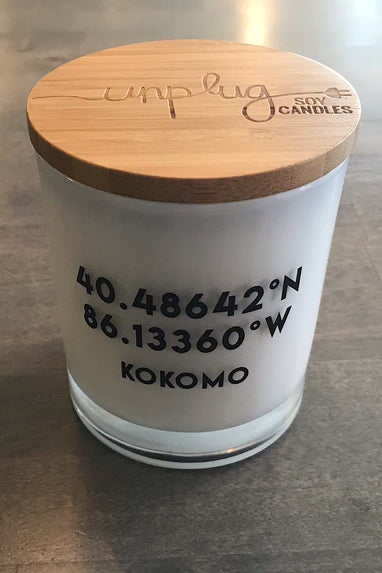 Kokomo Coordinates Candle in Hazelnut Coffee or Sugared Citrus