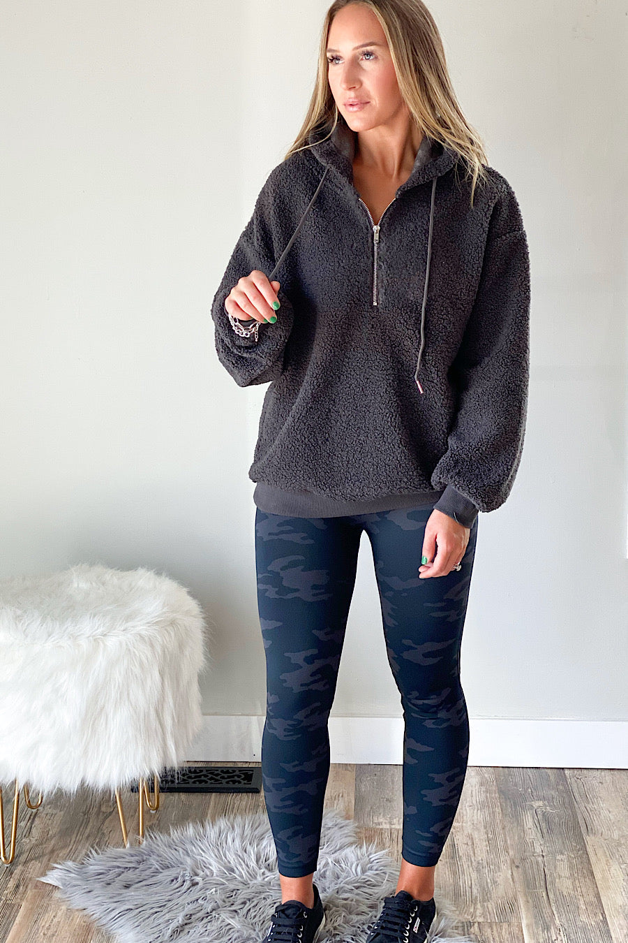 Unwind Hooded Pullover