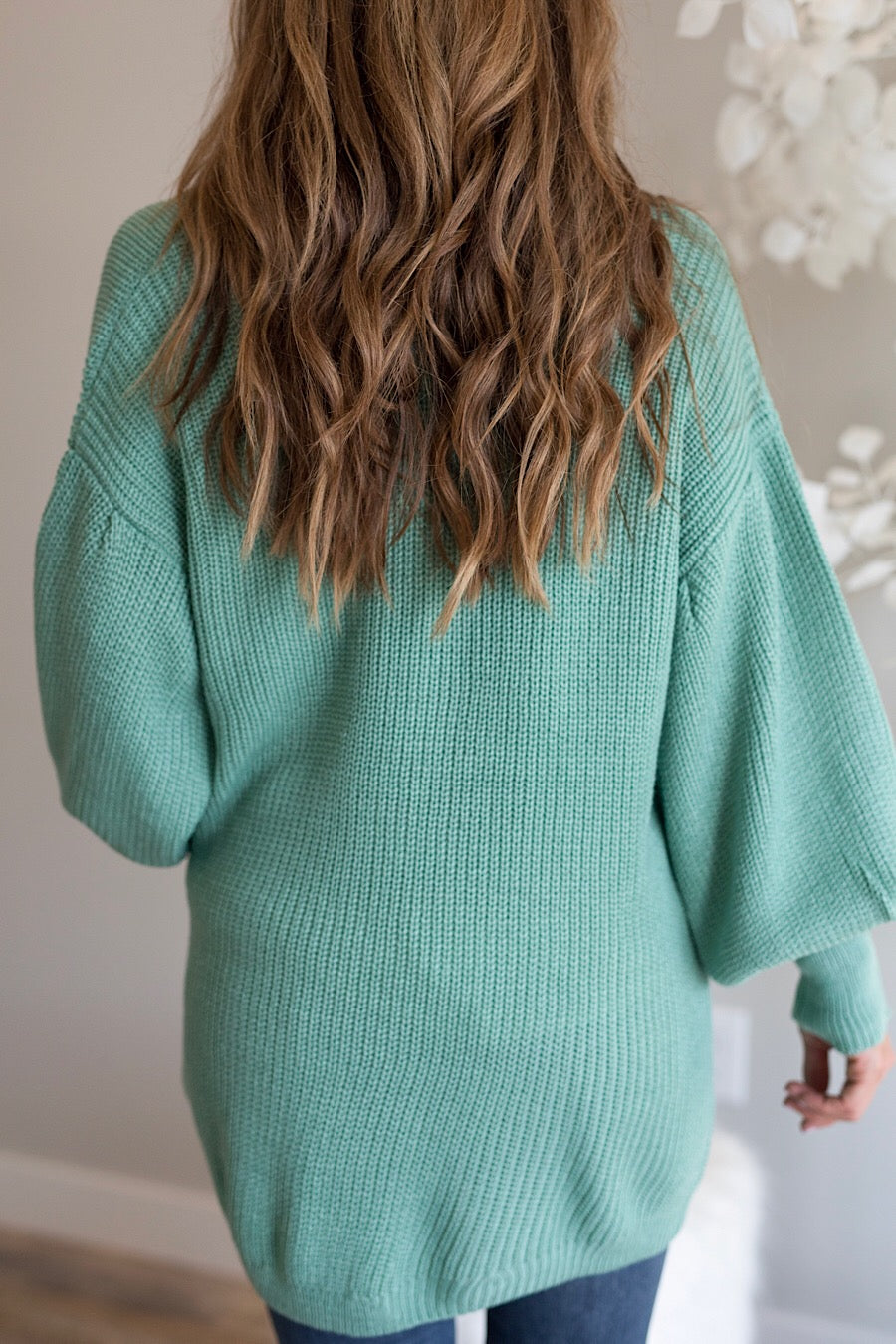 Mint Knit Cardigan