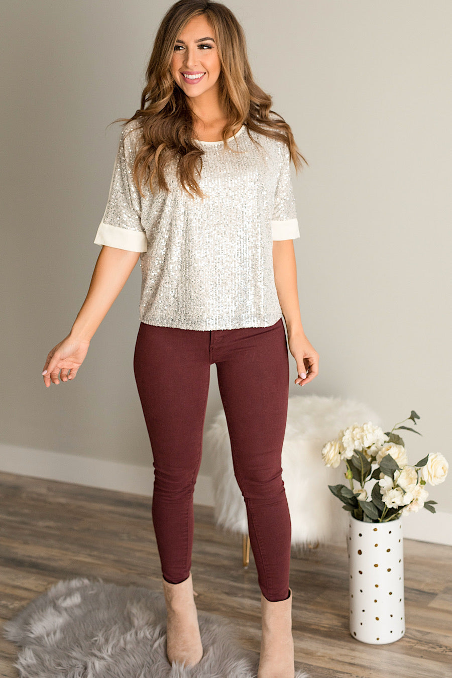 HyLife Sequin Blouse