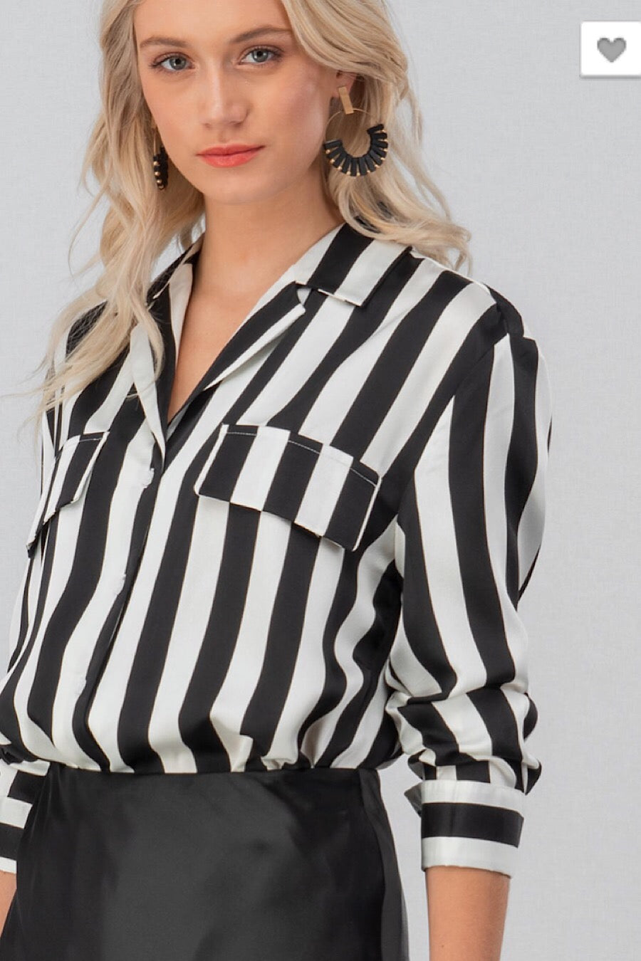 Monochrome Blouse