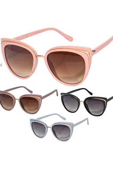 Cat Eye Sunglasses in Several Colors