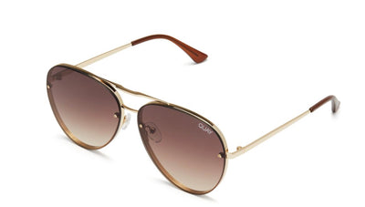 Cool INNIT Sunglasses in Gold/Brown