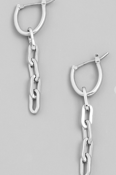 Mini Chain Link Earrings