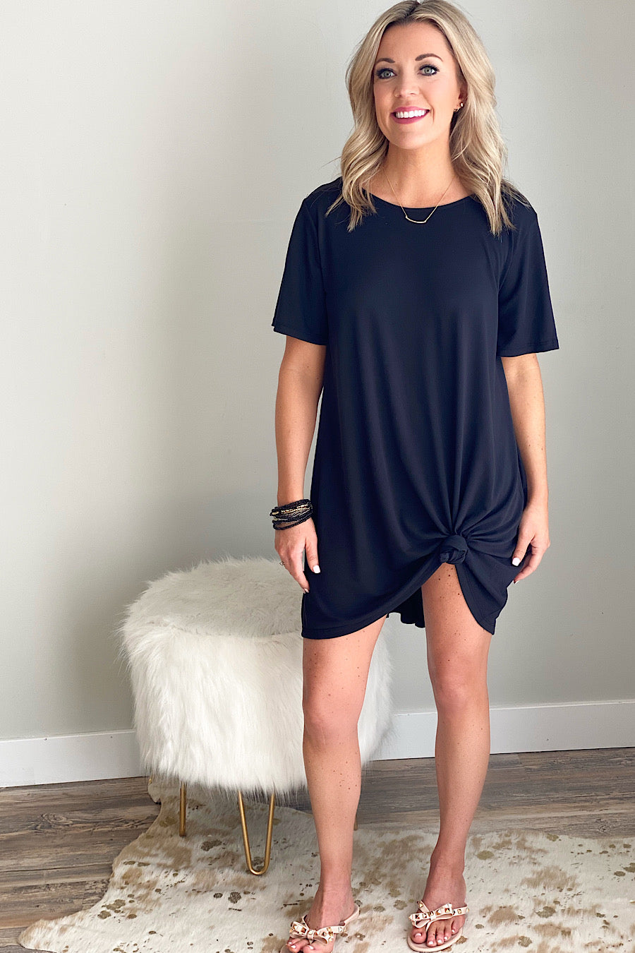 Resort Flare Cutout Coverup Dress