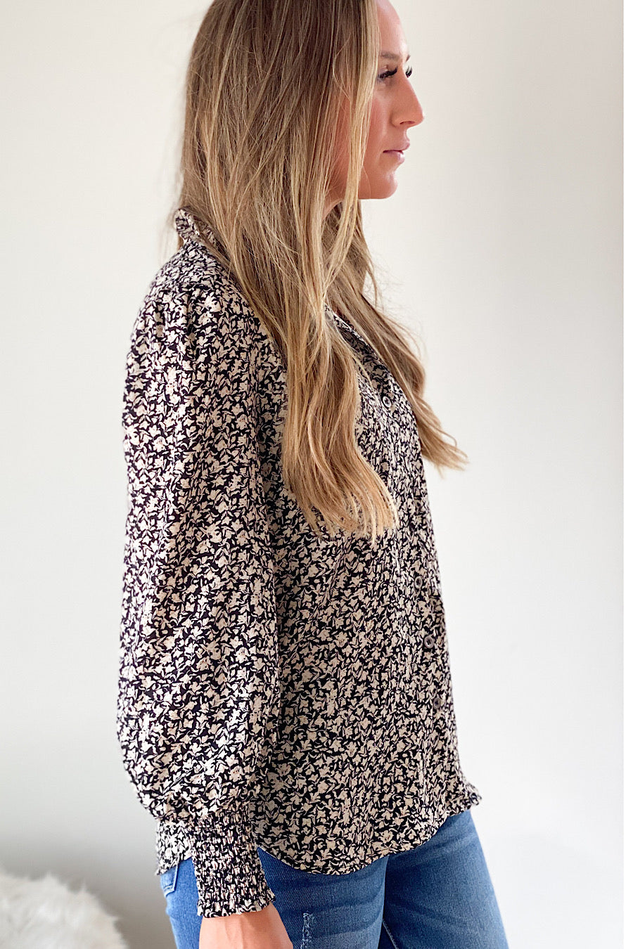 Molly Printed Blouse