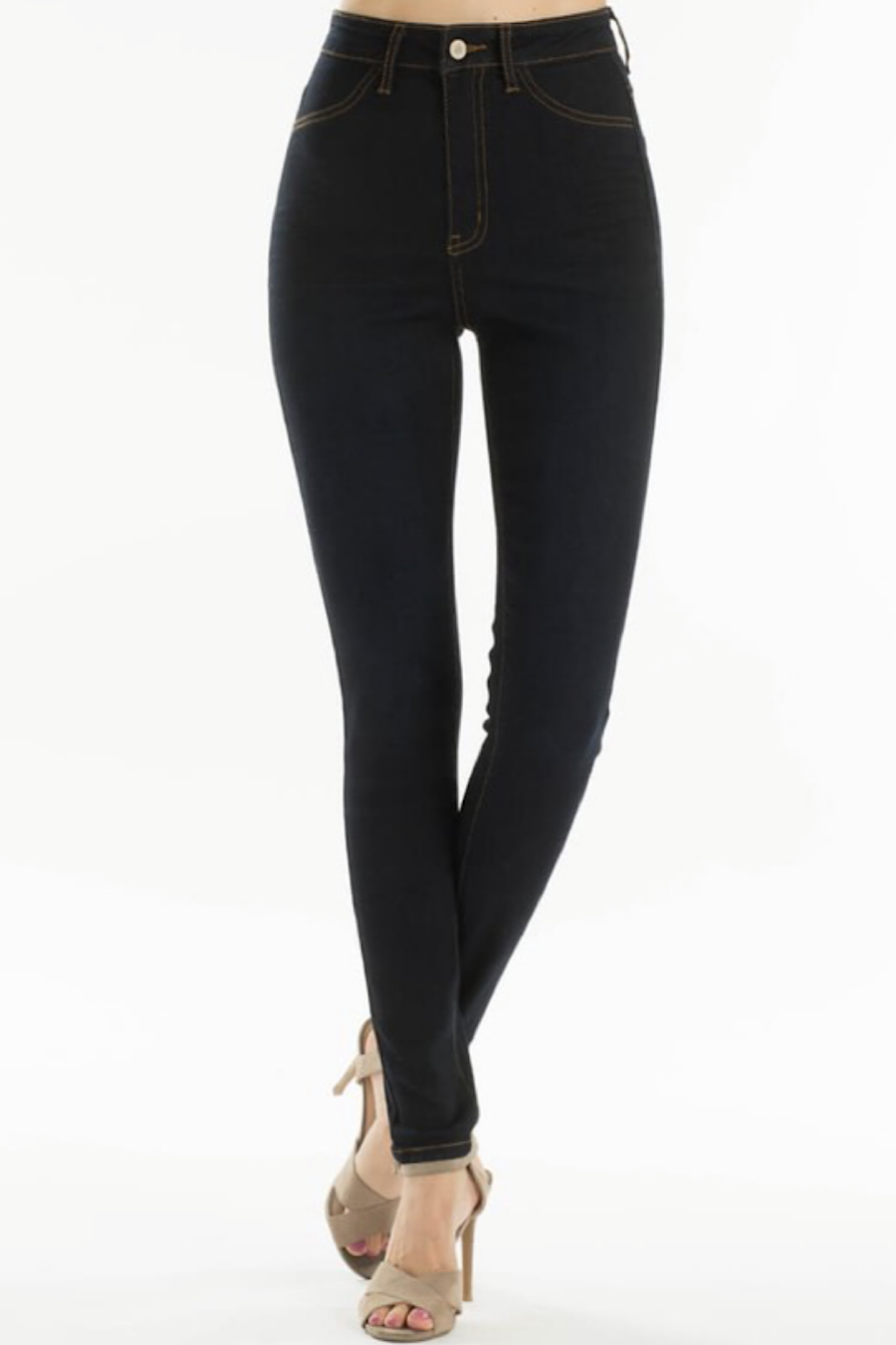 Landon Super High Rise Jeggings in Ink