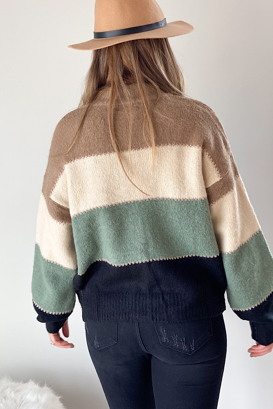 Dominic Colorblock Sweater