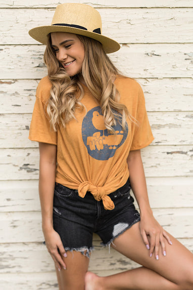 Free People Woodstock Clarity Ringer Tee