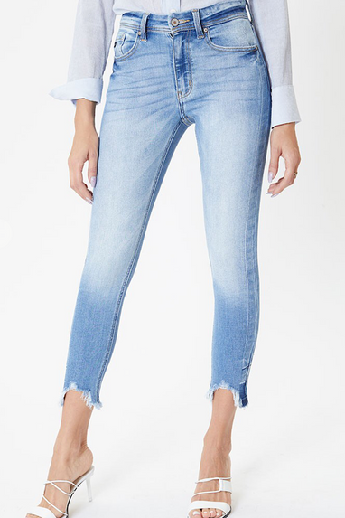 Kate High Rise Ankle Jeans