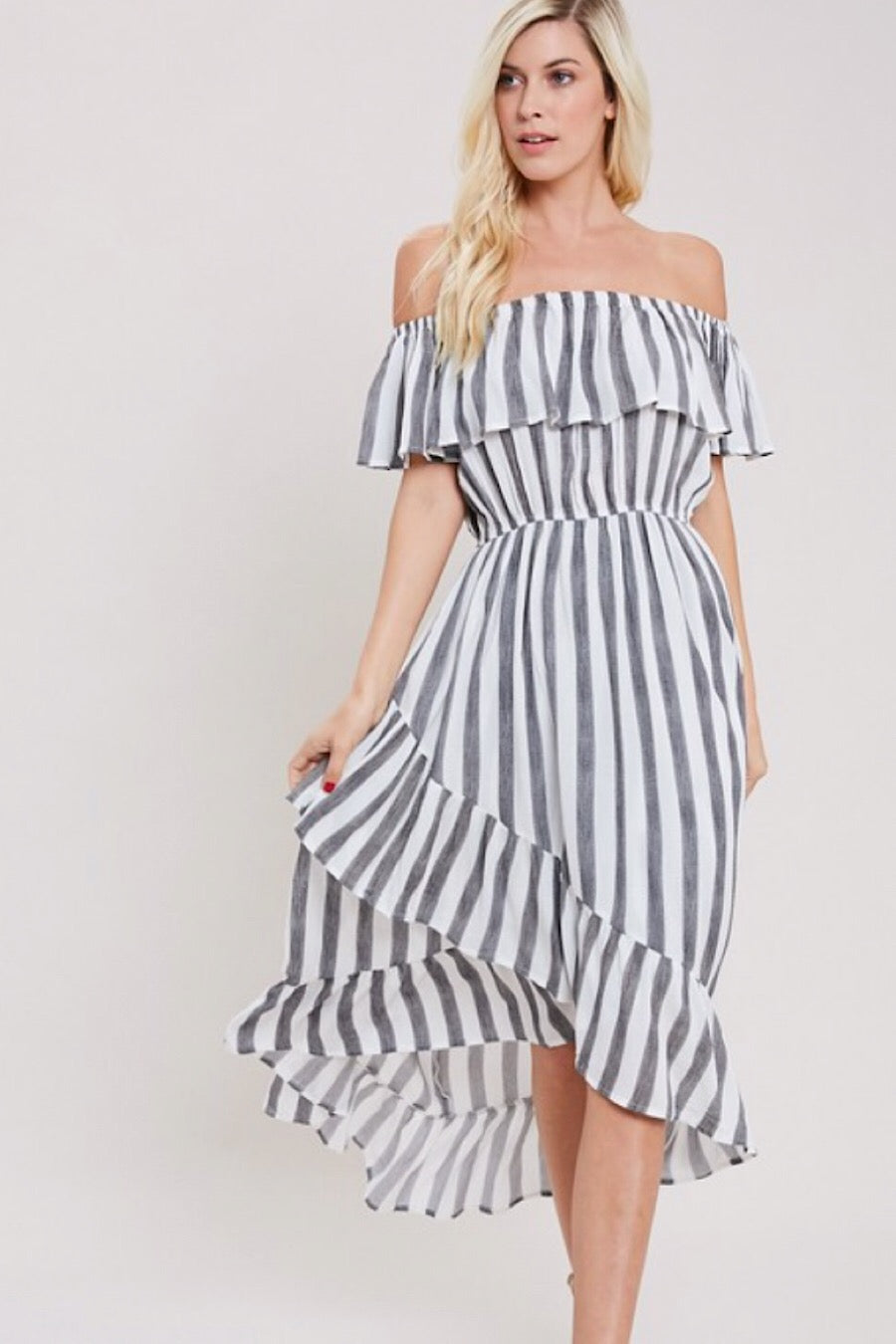 Mysa Stripe Dress