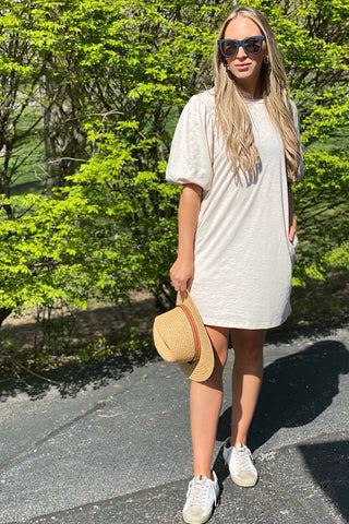 Double Take T-Shirt Dress